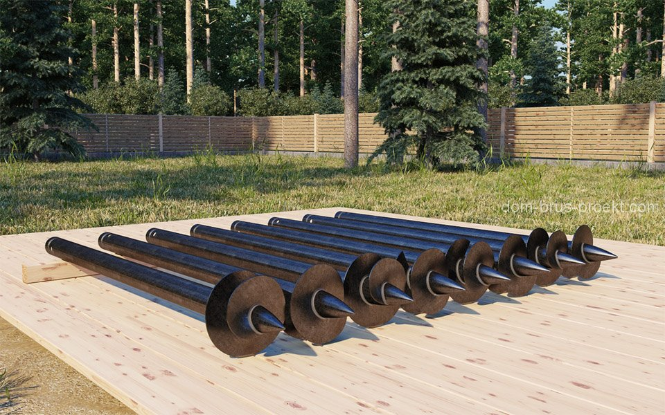 стальные сваи