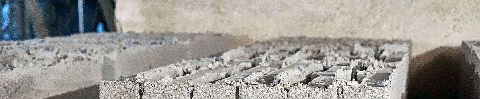 облой на керамзитно блоке