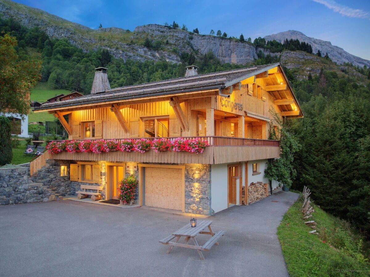 дом шале швейцария