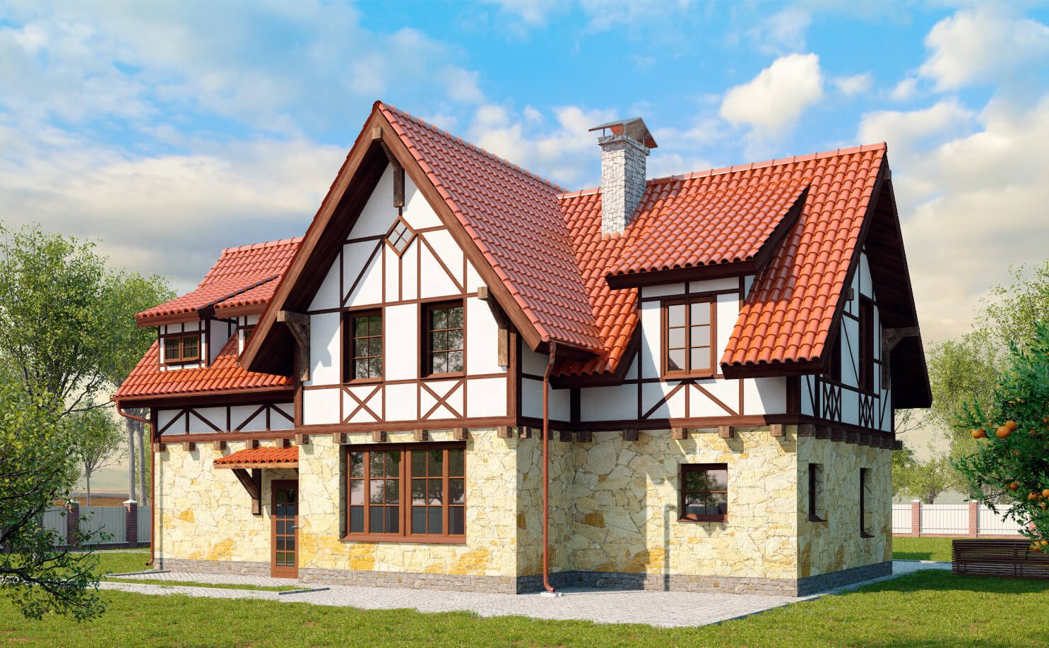 дом шале германия