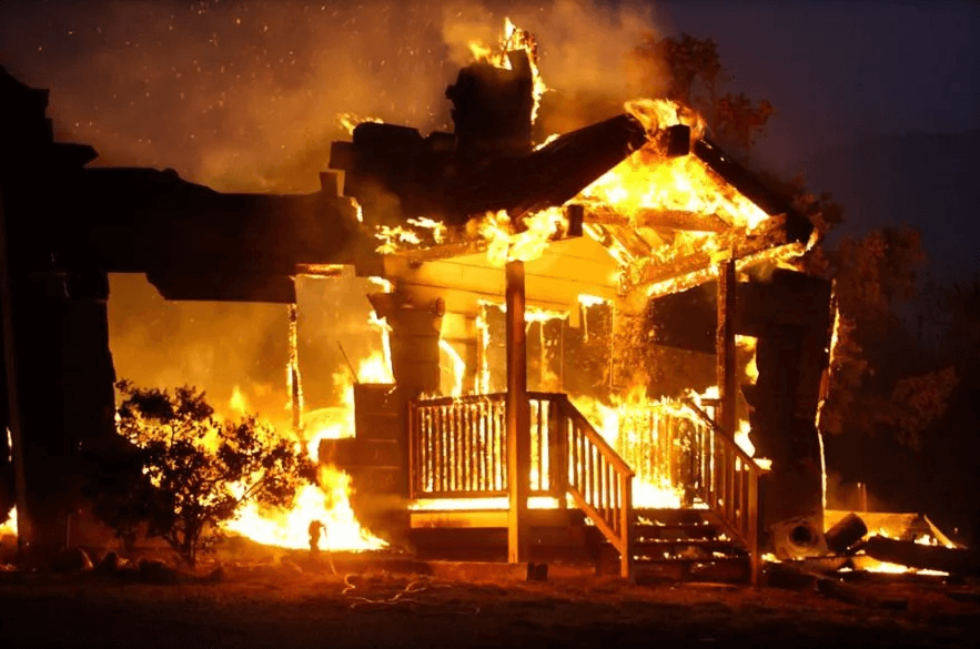 пожароопасность каркасного дома