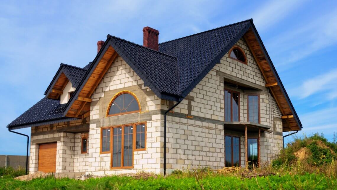 Дом из пеноблока, плюсы и минусы