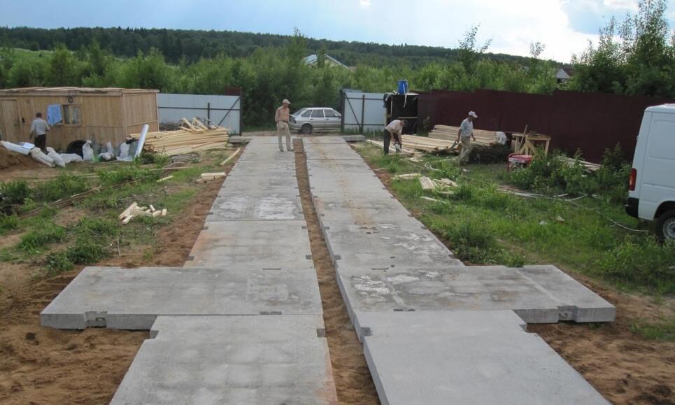 подготовка участка для стройки