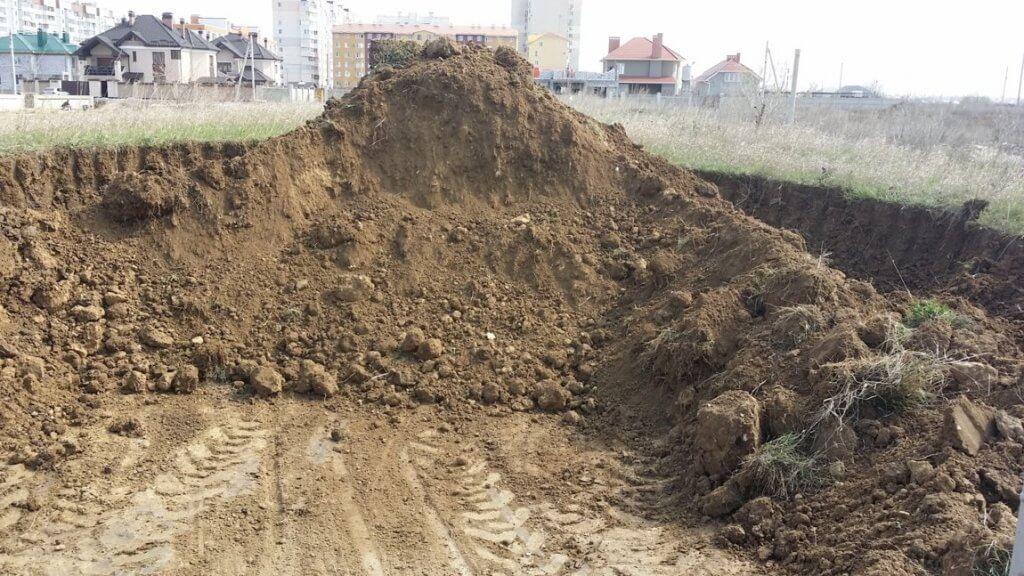 песчано-гравийный грунт