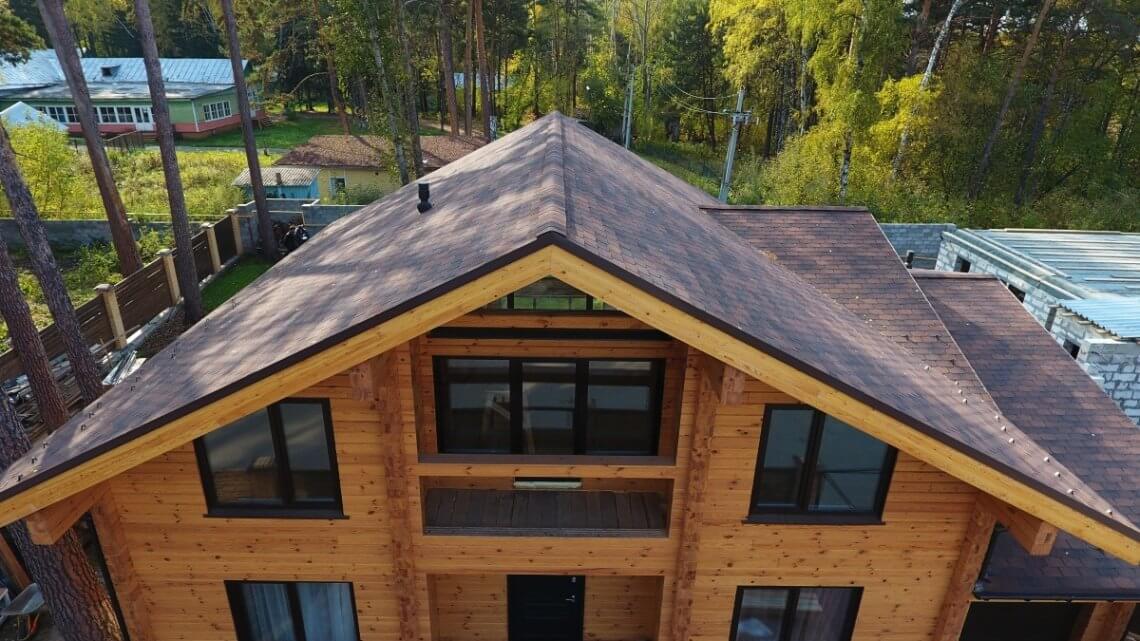 Двускатная крыша, плюсы и минусы. Виды двускатных крыш.