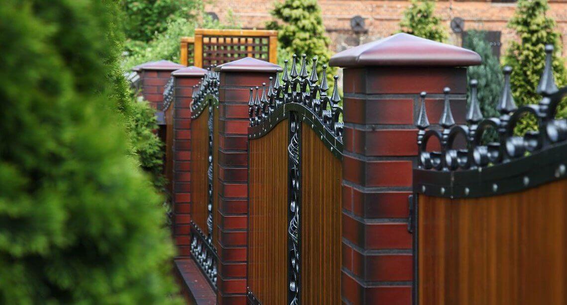 Забор и его элементы. Виды заборов для дома.