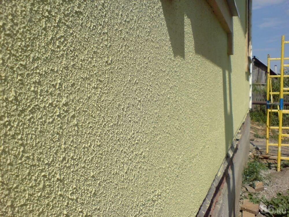 силикатная штукатурка на фасаде