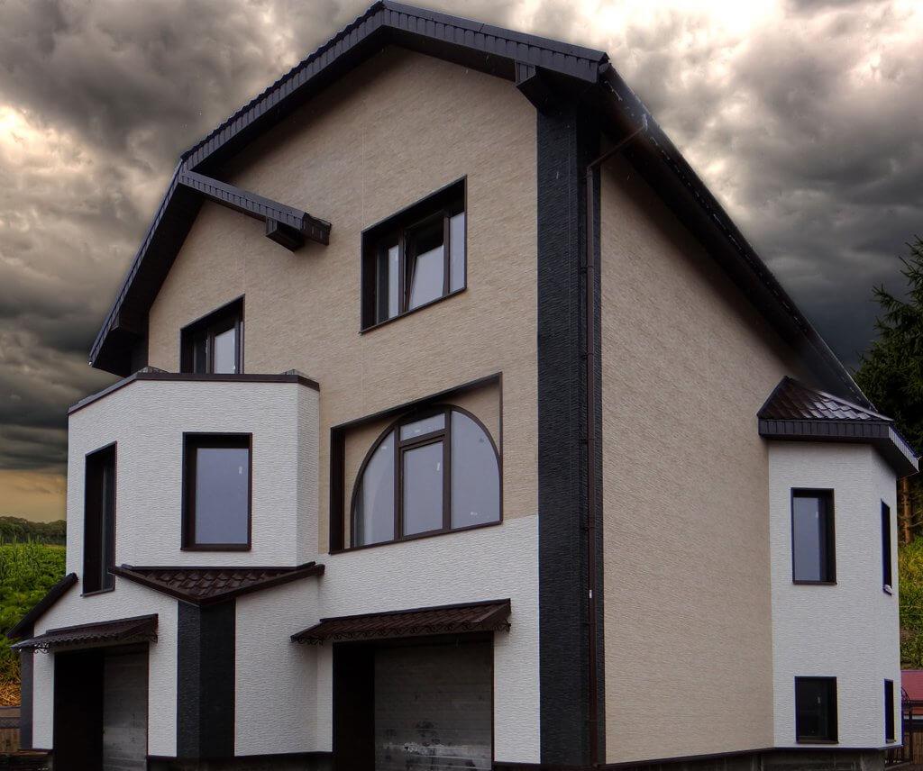 штукатуреный фасад