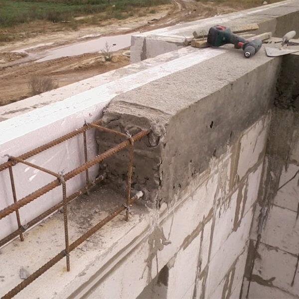 армирующий бетонный пояс