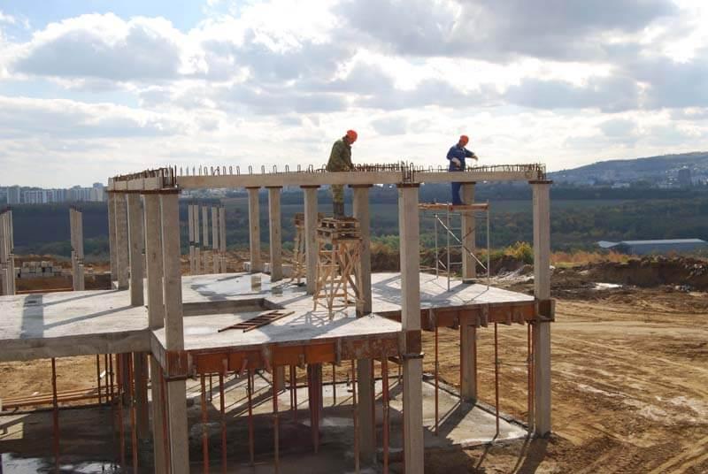монолитно-бетонный каркас