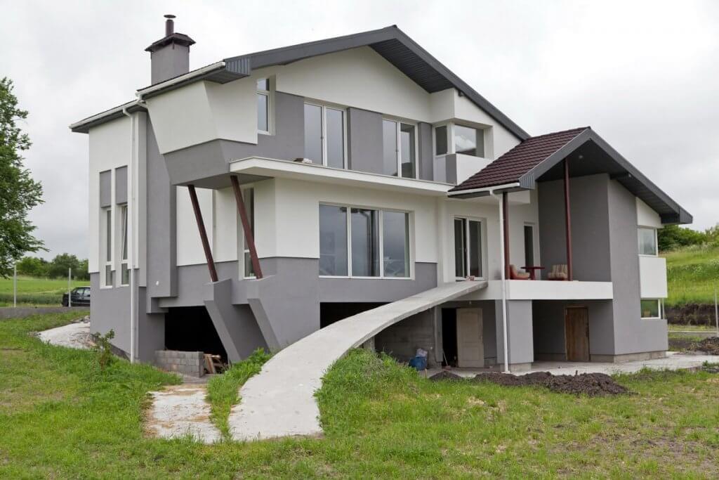 монолитно-каркасный дом