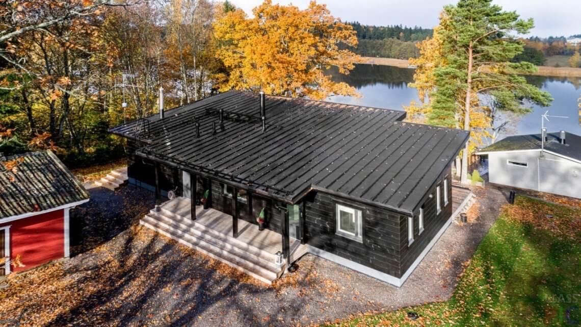 Односкатная крыша, ее конструкция, плюсы и минусы.